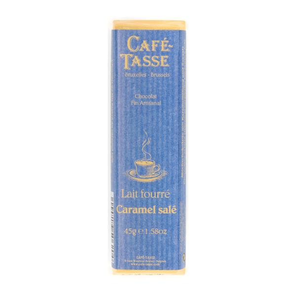 Café-Tasse белгийски шоколад-млечен със сол и карамел